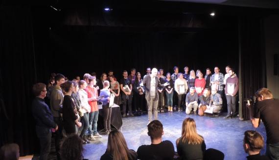 Teatr Persyflaż zdobył pierwszą nagrodę Ogólnopolskich Konfrontacji Teatralnych w Łomży, fot. Adam Dąbrowski