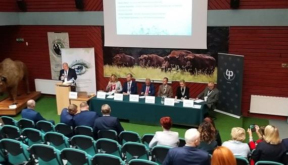 """VI Międzynarodowa Konferencja """"Turystyka na obszarach przyrodniczo cennych"""" w Białowieży, fot. Sławomir Sawczuk"""