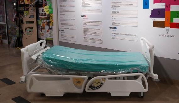 Klinika onkologii DSK w Białymstoku dostała kilkanaście nowych łóżek, fot. Olga Gordiejew
