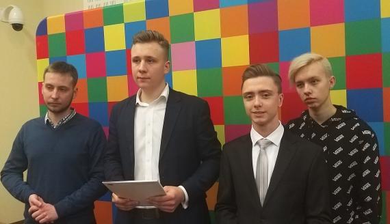 Radni Młodzieżowego Sejmiku Województwa Podlaskiego, fot. Edyta Wołosik