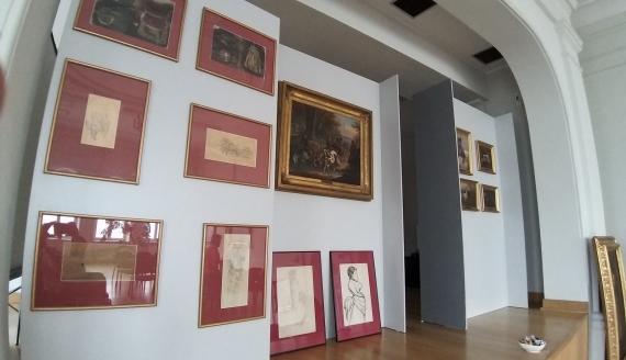 Wczesne prace Alfreda Wierusza Kowalskiego można oglądać w Muzeum Okręgowym w Suwałkach, fot. Iza Kosakowska