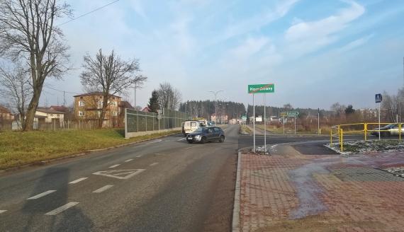 Specjalna komisja ma się zająć organizacją ruchu na skrzyżowaniu w Horodnianach, fot. Michał Buraczewski