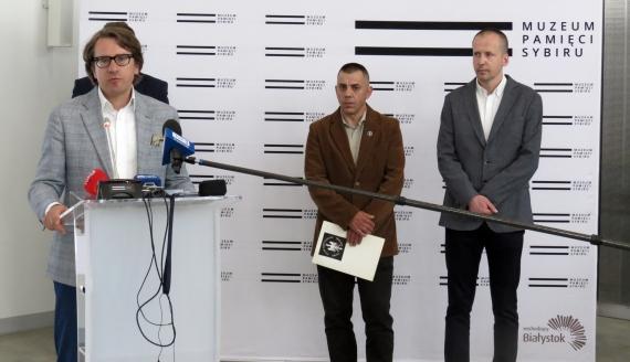 Prezentacja pamiątek po Tadeuszu Jasińskim, fot. Agnieszka Czarkowska