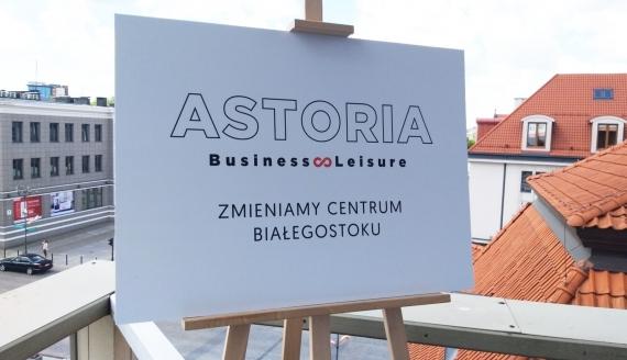 """Przedsiębiorcy wydzierżawili od PSS Społem budynek """"Astorii"""" w centrum Białegostoku, fot. Edyta Wołosik"""