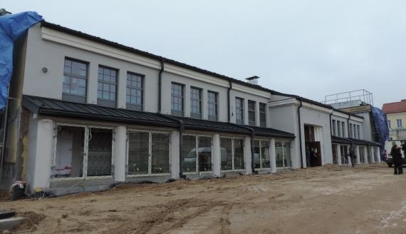 Hala Kultury w Łomży będzie gotowa za kilka miesięcy, fot. Adam Dąbrowski