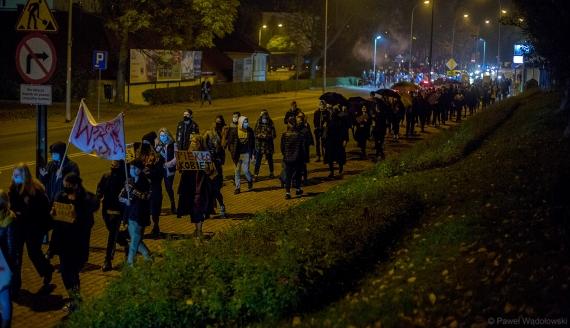 Protest kobiet, fot. Paweł Wądołowski