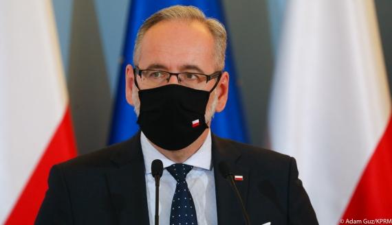 Minister zdrowia Adam Niedzielski - fot. Adam Guz/KPRM