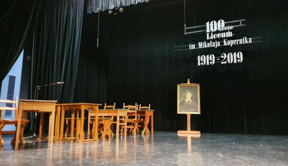 I Liceum Ogólnokształcące im. Mikołaja Kopernika w Grajewie ma już 100 lat, fot. Paweł Wądołowski