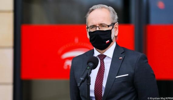 Minister zdrowia Adam Niedzielski, źródło: Krystian Maj/ KPRM