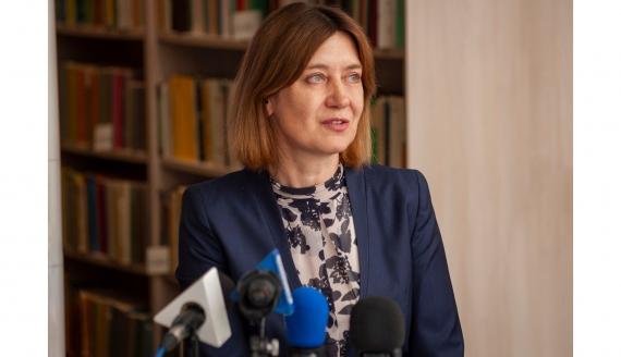 Prof. Izabela Święcicka - fot. UwB