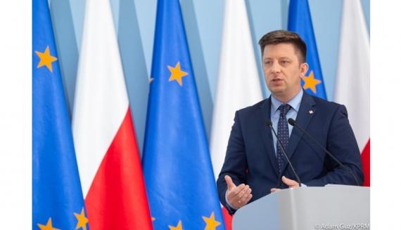 Szef KPRM Michał Dworczyk - fot. Adam Guz/KPRM