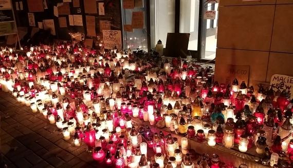 """""""Pogrzeb kobiet"""" w Białymstoku, fot. Grzegorz Pilat"""