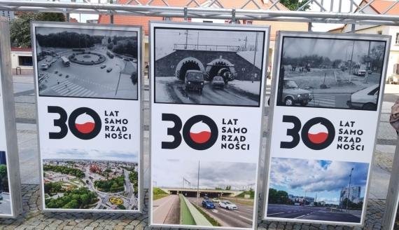 30-lecie samorządu terytorialnego - wystawa w Białymstoku, fot. Edyta Wołosik