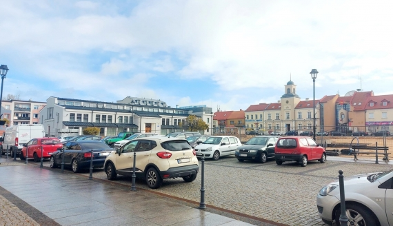 Stary Rynek w Łomży, fot. Adam Dąbrowski