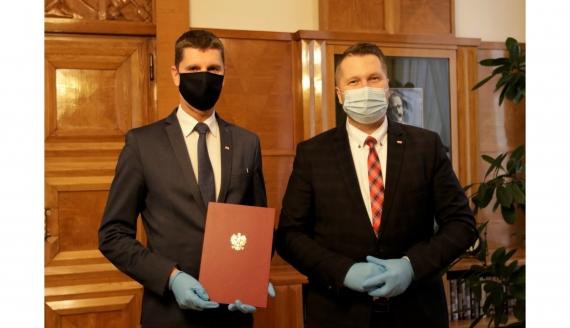 Dariusz Piontkowski i Przemysław Czarnek, źródło: Twitter