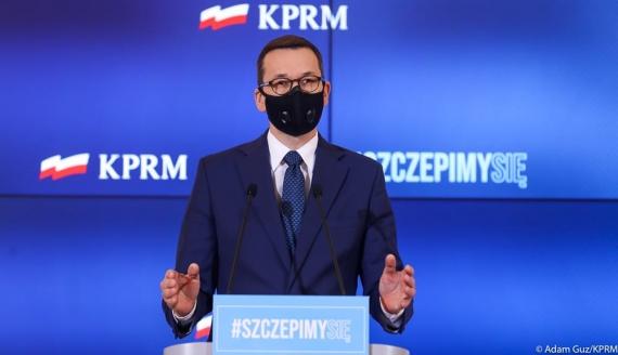 Premier Mateusz Morawiecki, źródło: Adam Guz/ KPRM