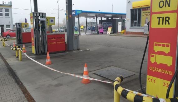 Stacja paliw przy ul. Składowej w Białymstoku, fot. Edyta Wołosik