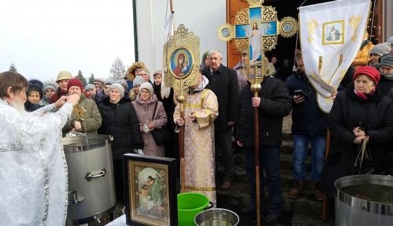 Święto Chrztu Pańskiego w Gródku, fot. Anna Petrovska