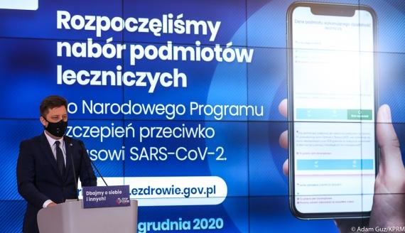 Szef Kancelarii Premiera Michał Dworczyk, źródło: Adam Guz/KPRM