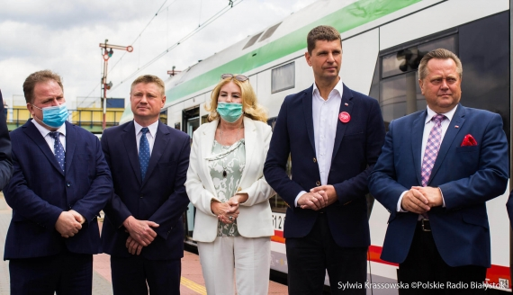 Jeszcze w tym roku może być przywrócone połączenie kolejowe Białystok-Hajnówka, fot. Sylwia Krassowska