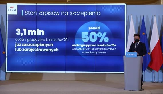 Szef Kancelarii Premiera Michał Dworczyk, źródło: KPRM/Twitter