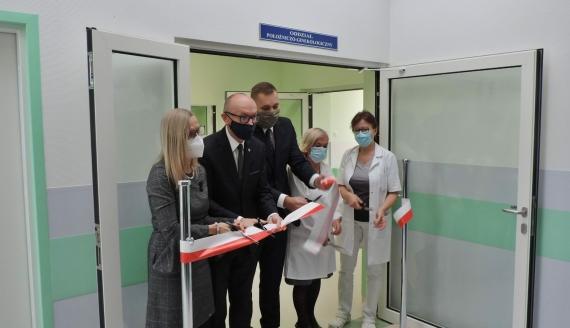 Nowy oddział położniczy Szpitala Ogólnego w Wysokiem Mazowieckiem oddany do użytku, fot. Adam Dąbrowski