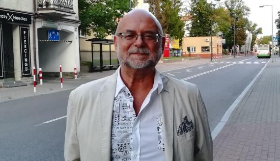 Przewodniczący Antypartii Marek Ciesielczyk, fot. Michał  Buraczewski