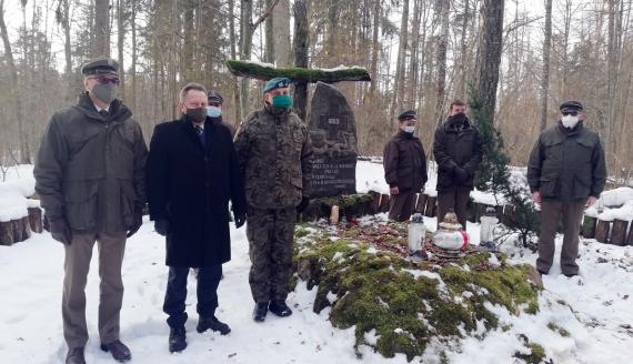 Uroczystości upamiętnienia 158. rocznicy bitwy na Uroczysku Kozi Rynek, fot. Marta Sołtys