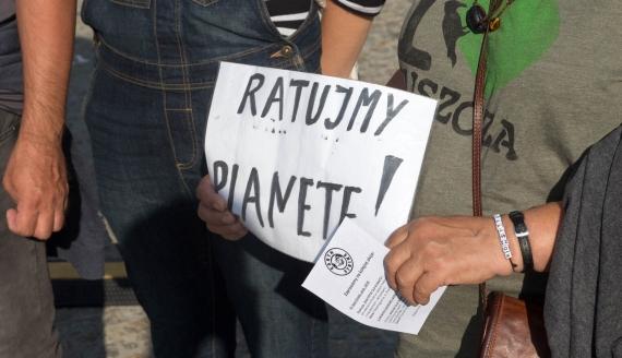 Strajk dla Ziemi, fot. Szymon Nieścior