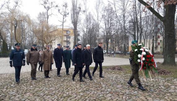 Międzynarodowy Dzień Pamięci o Ofiarach Holokaustu - Białystok, fot. Źmicier Kościn