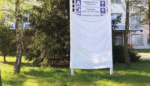 Szpital Wojewódzki im. Kardynała Stefana Wyszyńskiego w Łomży, fot. Adam Dąbrowski