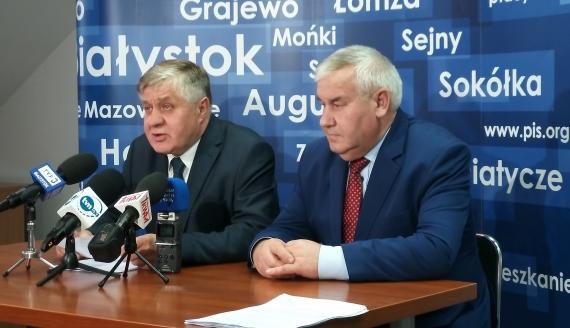 Krzysztof Jurgiel i Kazimierz Gwiazdowski, fot. Renata Reda