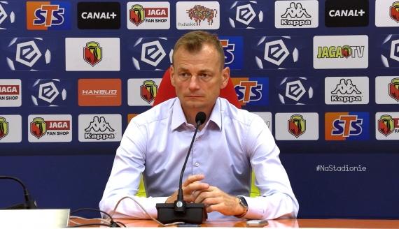 Bogdan Zając po meczu Jagiellonia - Zagłębie Lubin (0:1)