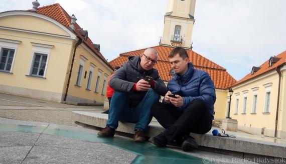 Andrzej Ryczkowski i Kamil Kalicki, fot. Monika Kalicka/Archiwum