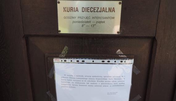 Do odwołania nieczynna będzie Kuria Diecezjalna w Łomży, fot. Adam Dąbrowski