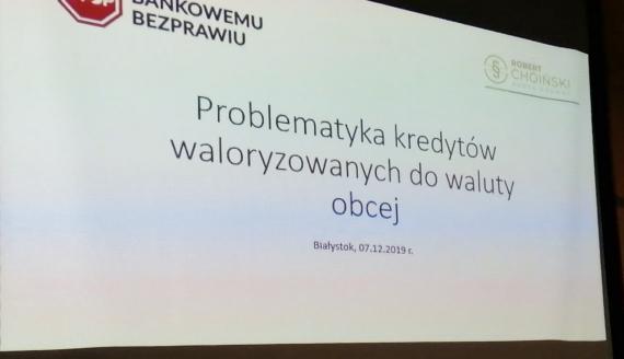 Radcy prawni udzielają odpowiedzi na nurtujące nas pytania podczas konferencji w Białymstoku, fot. Marcin Gliński