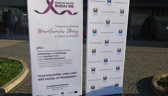 Bezpłatne badania znamion w Białostockim Centrum Onkologii, fot. Edyta Wołosik