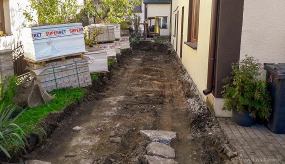 Mieszkańcy Kolna mogą być ewakuowani - na jednej z ulic znaleziono dwa niewybuchy, fot. Paweł Wądołowski