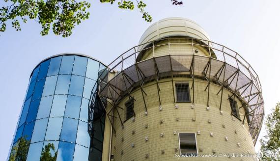 Obserwatorium astronomiczne UwB, fot. Sylwia Krassowska