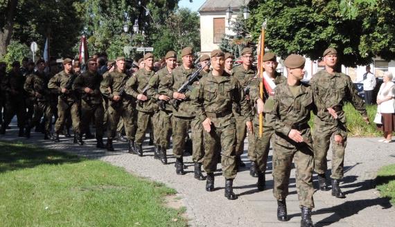 Obchody Dnia Wojska Polskiego w Łomży, fot. Adam Dąbrowski