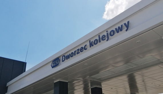Bielsk Podlaski ma nowoczesny i ekologiczny dworzec kolejowy, fot. Marcin Gliński