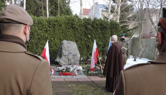 W Łomży 158. rocznicę wybuchu Powstania Styczniowego tradycyjnie upamiętniono w miejscu straceń przy Szosie Zambrowskiej i na cmentarzu przy ul. Kopernika, fot. Adam Dąbrowski