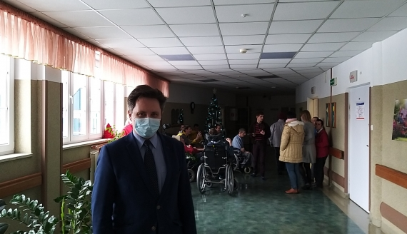 Szczepienia w DPS-ie przy ul. Baranowickiej w Białymstoku, fot. Renata Reda