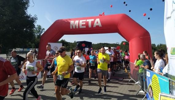 110 uczestników w niedzielnym IV Półmaratonie Doliną Rospudy i Filipowskim Biegu Jaćwinga - fot. Marta Sołtys