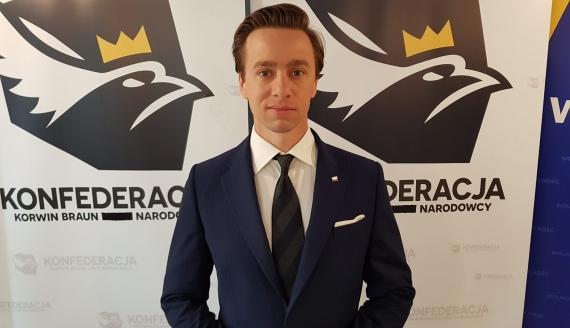 Krzysztof Bosak, fot. Adam Janczewski