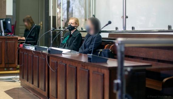 Proces lekarki oskarżonej o błąd w sztuce lekarskiej, 25.02.2021, fot. Paweł Wądołowski