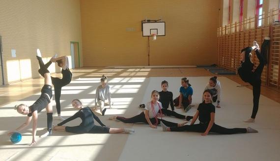 Zajęcia sportowe w Szkole Podstawowej nr 12 w Białymstoku, fot. Barbara Sokolińska