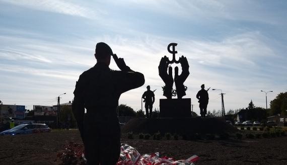 Pomnik ofiar Obławy Augustowskiej w Augustowie, fot. Areta Topornicka