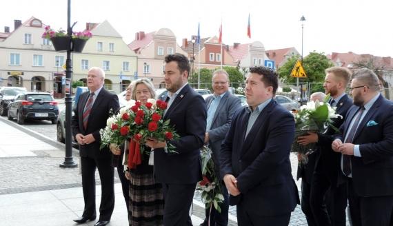 Łomżyńskie uroczystości w 31. rocznicę wyborów czerwcowych, fot. Adam Dąbrowski