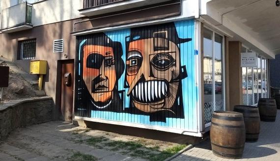 Grafitti Praktisa w Białymstoku, fot. Dorota Sokołowska